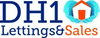 DH1 Lettings & Sales logo