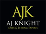 AJ Knights Lettings logo