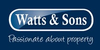 Marketed by Watts & Sons