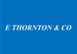E Thornton and Co Logo
