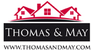Thomas & May, Surrey logo