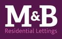 M&B Residential Lettings Logo