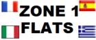 Zone 1 Flats Logo