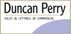 Duncan Perry Estate Agents logo