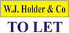 WJ Holder and Co logo