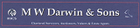 MW Darwin & Sons Estates Agents Logo