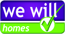 We Will Homes logo