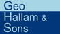 Geo Hallam and Sons logo