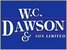 WC Dawson & Son logo
