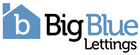 Big Blue Lettings logo