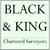 Black & King logo