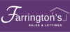 Marketed by Farringtons Sales and Lettings