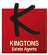 Kingtons Estate Agents Logo