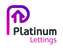 Platinum Lettings logo