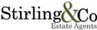 Stirling & Co Estate Agents Logo