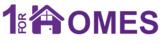 1 for Homes Logo