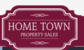 Hometown Property Sales logo