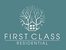 First Class Residential logo