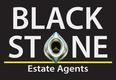 Black Stone Estate Agents Logo
