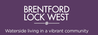 Waterside Places - Brentford Lock West, Chalico Walk logo
