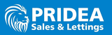 Pridea Sales and Lettings Logo