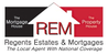 Regents Estates and Mortgages logo