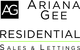 Ariana Gee Residential Sales & Lettings logo