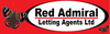 Red Admiral Lettings logo