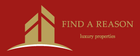 Find a Reason - Luxury Real Estate logo