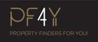 PF4Y – Property Finders 4 You – Mediação Immobiliária, Lda logo