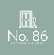 No. 86 Estate Agency Logo