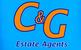 C&G Estate Agents logo