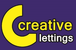 Creative Lettings logo