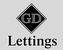 GD Lettings logo