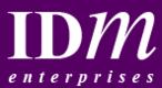 I D M Enterprises Logo