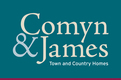 Comyn & James Town & Country Homes Logo