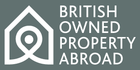 BRITISH-OWNED PROPERTY ABROAD logo