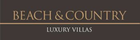 Beach & Country Luxury Villas logo