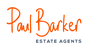 Paul Barker Estate Agents logo