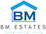 BM Estates logo
