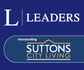 Leaders incorporating Suttons City Living logo