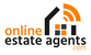 Online estate agents.com logo