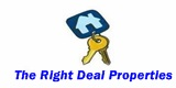 The Right Deal Sales and Letting Service Logo