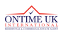 ONTIME UK INTERNATIONAL logo