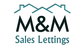 M&M Sales Lettings logo