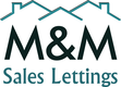 M & M Sales Lettings Logo