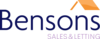 Bensons Estate Agents logo