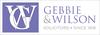 Gebbie & Wilson logo