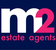 M2 Estate Agents logo