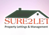 Sure 2 Let Property Lettings & Management logo
